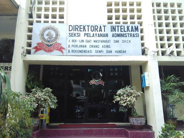 Gedung Direktorat Intelkam