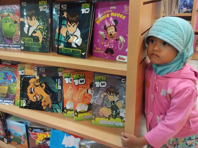 Kirana di Gramedia Matraman