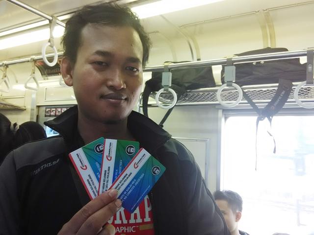 Pegang Tiket