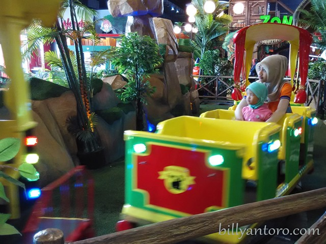 Kid City, Kirana in Mini Train