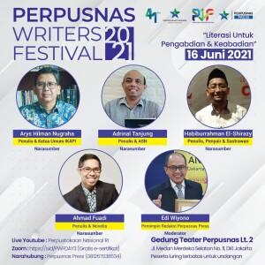 Perpusnas Writer Festival 3